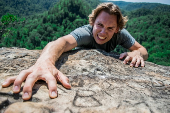 (8-26-17) Climbing Eagle's Nest