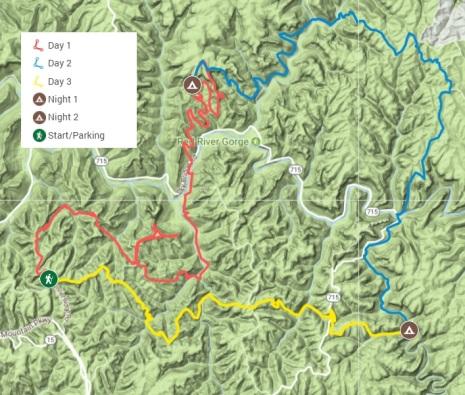 RRG map
